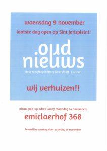 Kringloop pop-up store Oud Nieuws verhuist naar winkelcentrum Emiclaer