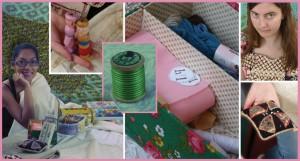 Parels & schatten uit het kringloop textielatelier; nieuwe expositie in het minimuseum!