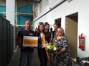 Top 5 nominatie Leerbedrijf 2018 door ROC-MN voor Kringloop Amersfoort