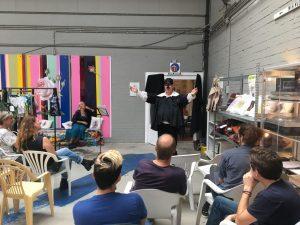 Masker-expositie geopend in Kringloopcentrum Amersfoort