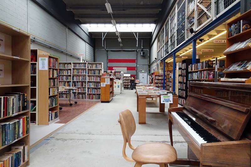 Boekenafdeling Kringloop Amersfoort